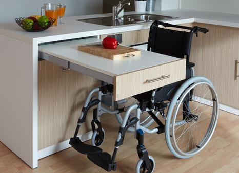 Travaux daménagement pour le handicap et la mobilité réduite