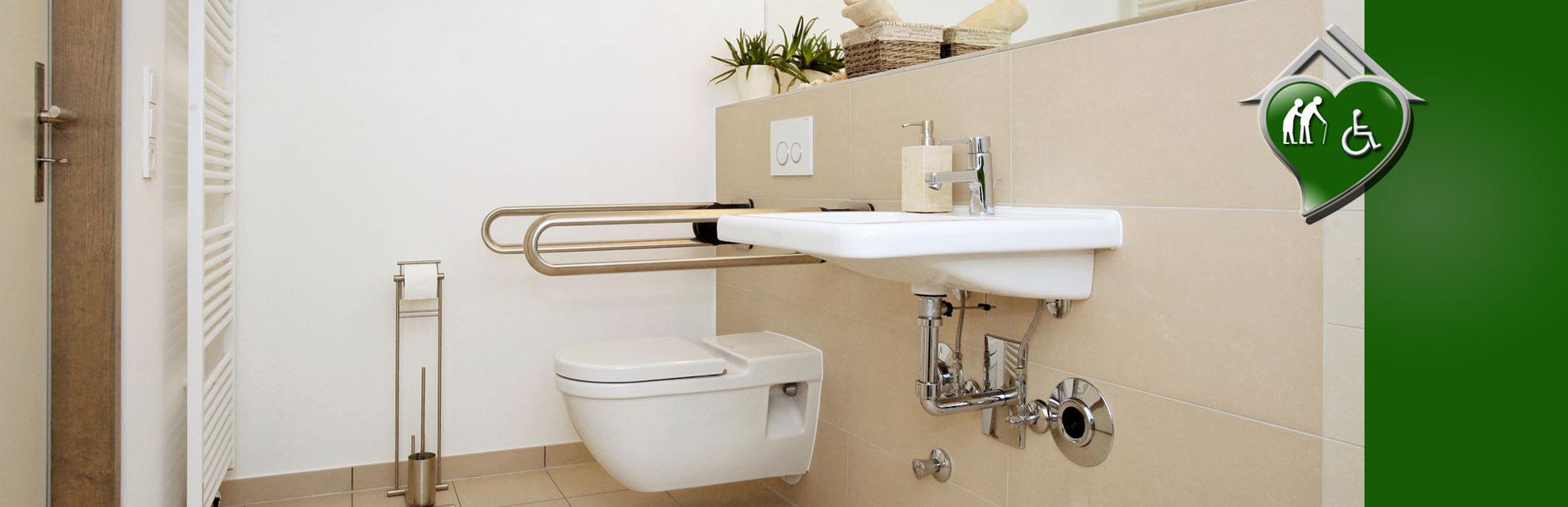 Am nagement et adaptation pour personnes handicap e pmr et senior - Amenagement salle de bain pour personne agee ...